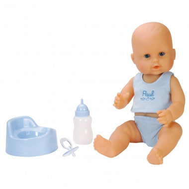 Corolle 14-Inches Paul Drink & Wet Bath Baby