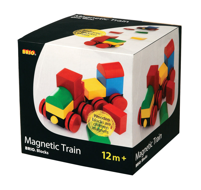 Brio Magnetic Stacking Train Blocks - 30124