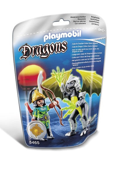 Playmobil Lightning Dragon & Warrior - 5465