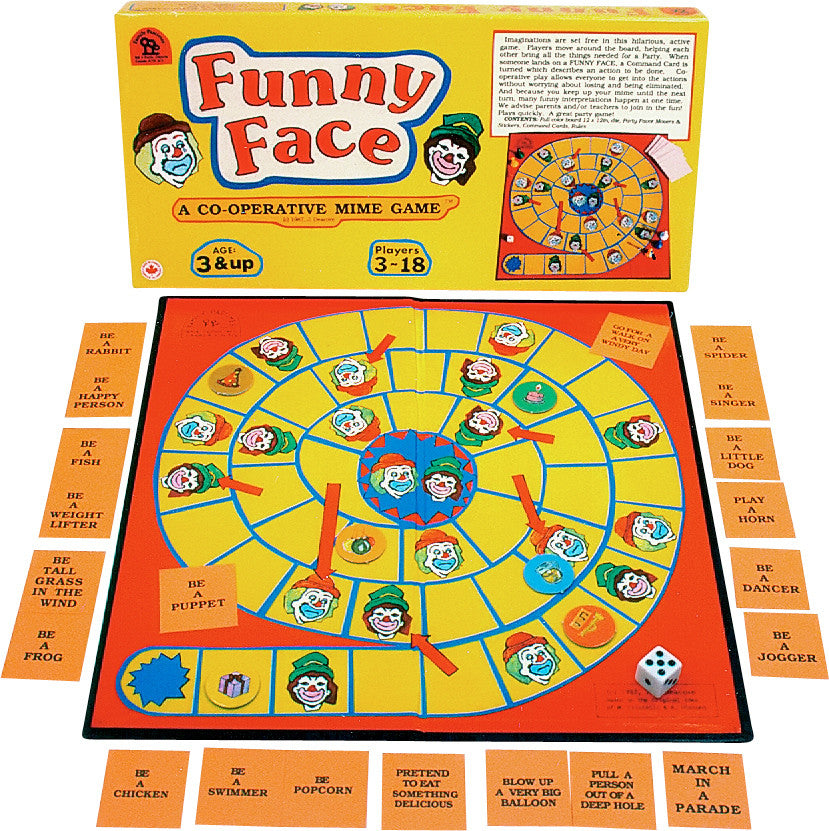 Family Pastimes Funny Face Game