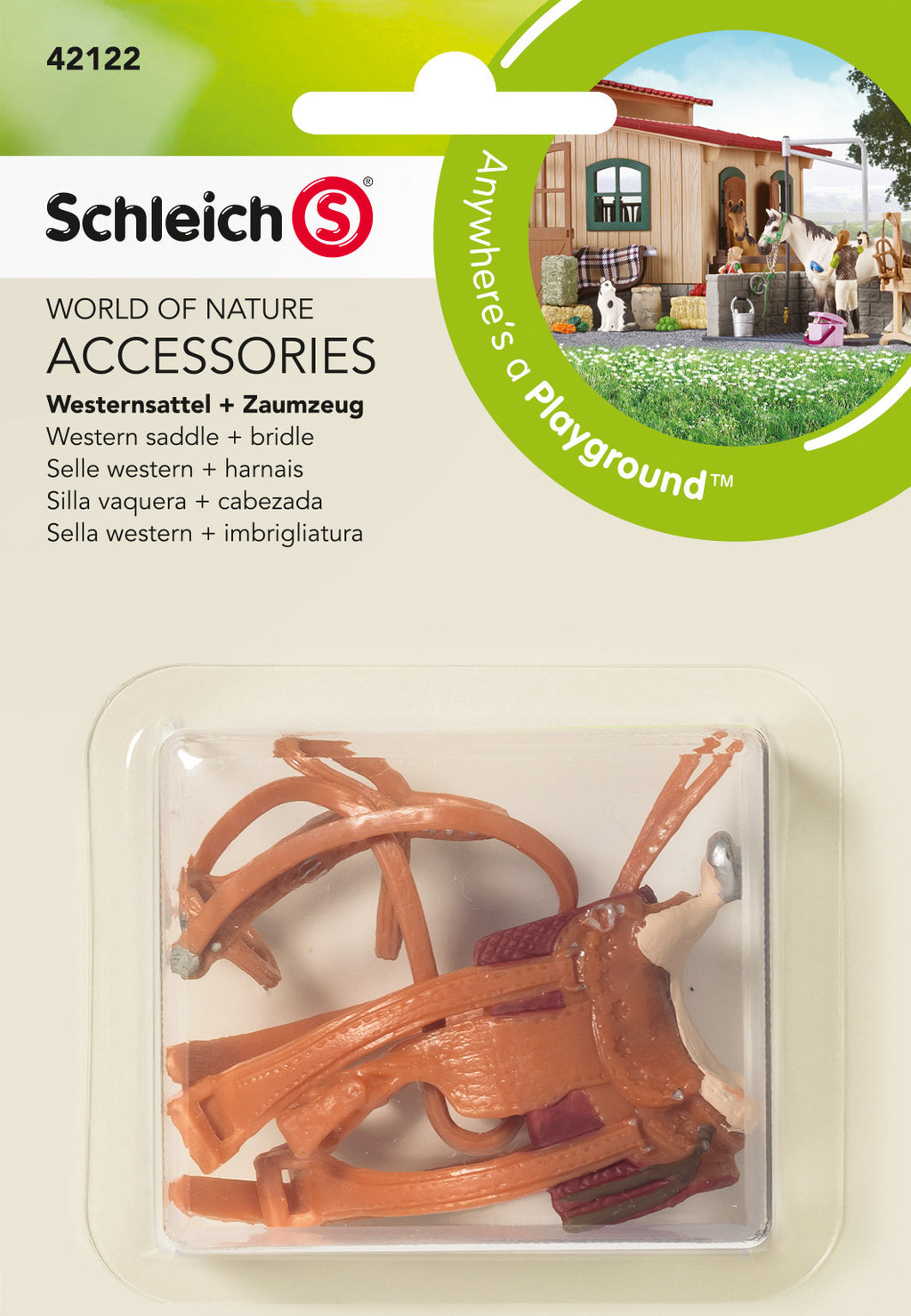 Schleich Western Saddle & Bridle - 42122