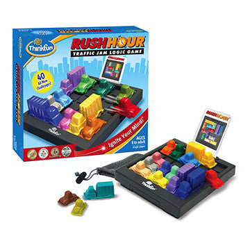 ThinkFun Rush Hour Traffic Logic Game