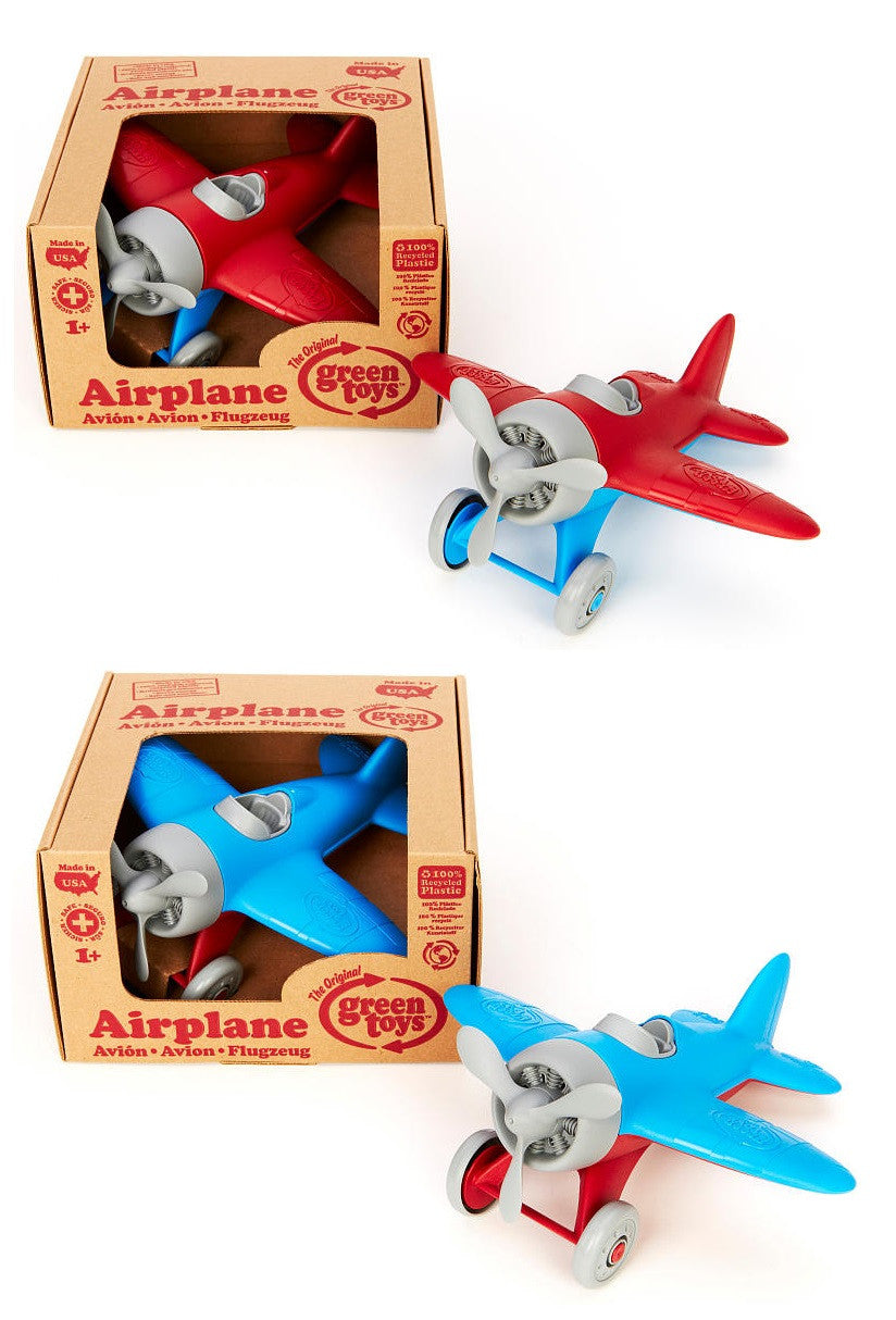 Green Toys Red & Blue Airplane AIRA-1028