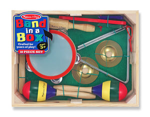 Melissa & Doug 10488 Band-In-A-Box 10 Pieces Music Set