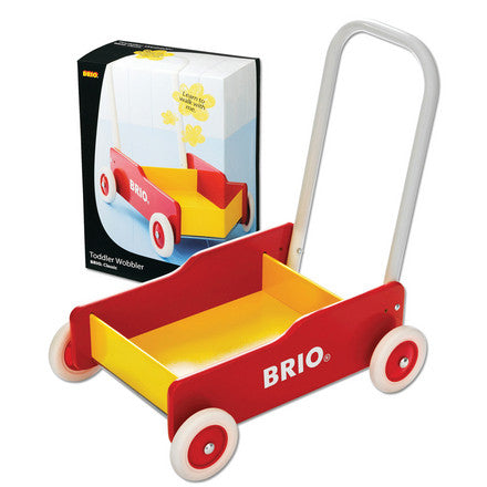 Brio Wooden Toddler Wobbler Cart - 31350