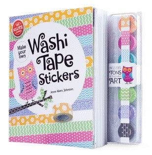 Klutz - 0545647762 | Make Your Own Washi Tape Stickers