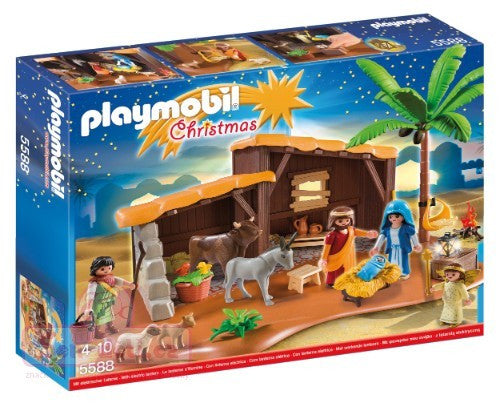 Playmobil Nativity Stable With Christmas Manger - 5588