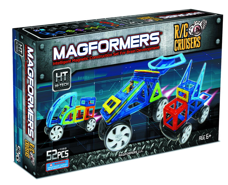 Magformers 52 Piece RC Cruisers #63095