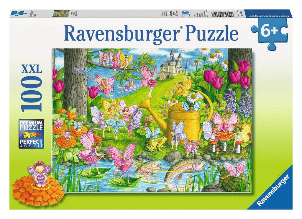 Ravensburger 100 Pieces Puzzle Fairy Playland - 10602