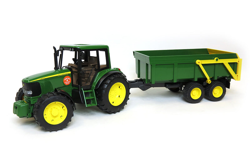 Bruder John Deere 6920 With Tipping Trailer - 09803