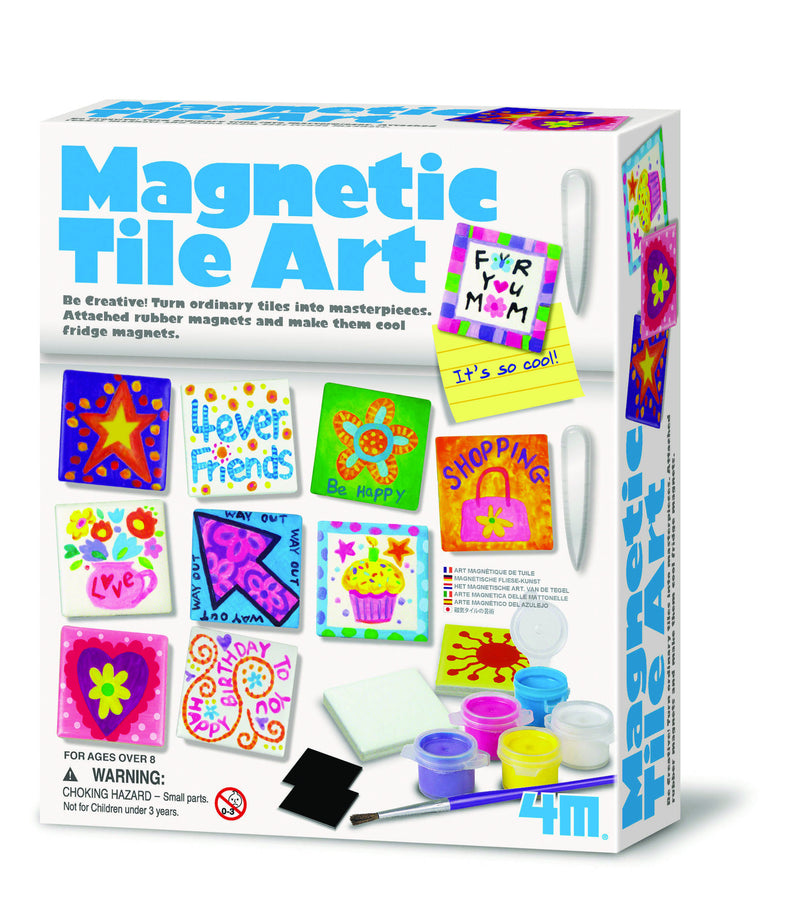 4M Magnetic Tile Art Kit