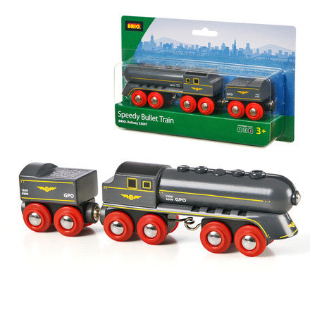 Brio Speedy Bullet Train Wooden - 33697