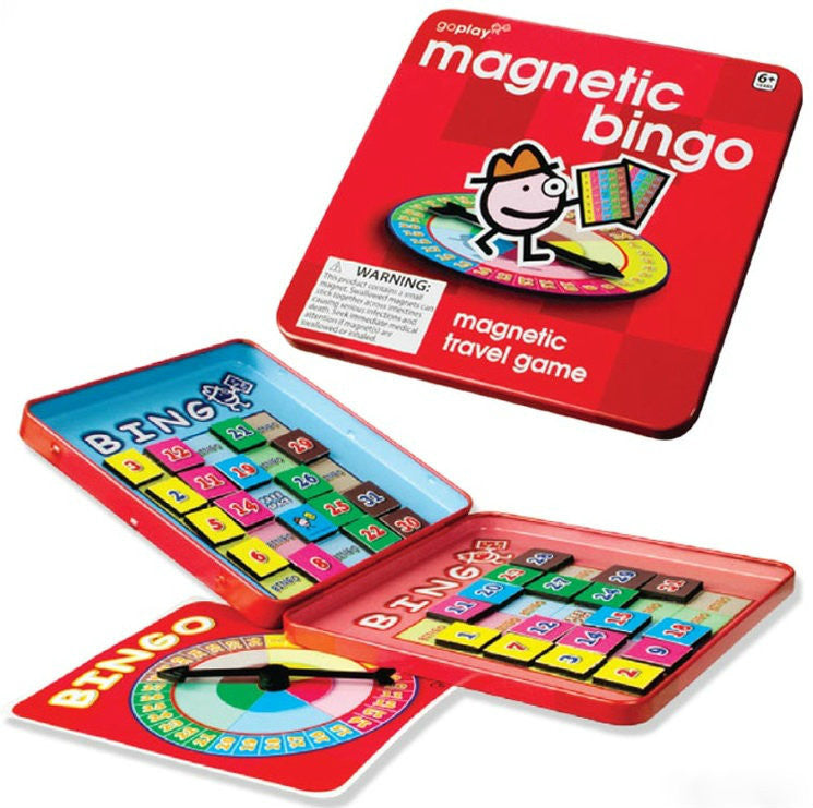 Toysmith Magnetic Bingo Travel Game - Goplay