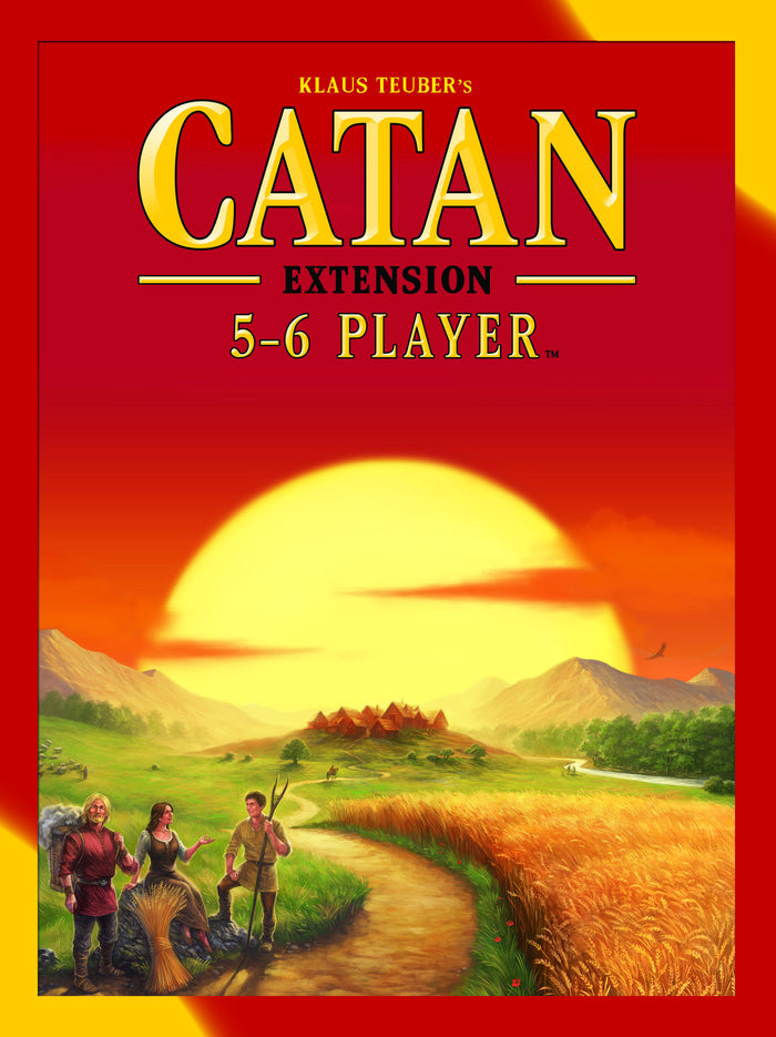 Asmodee - CN3072 | Catan - 5th Edition 5-6 Player Extension