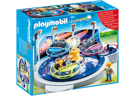 Playmobil Spinning Spaceship Ride - 5554