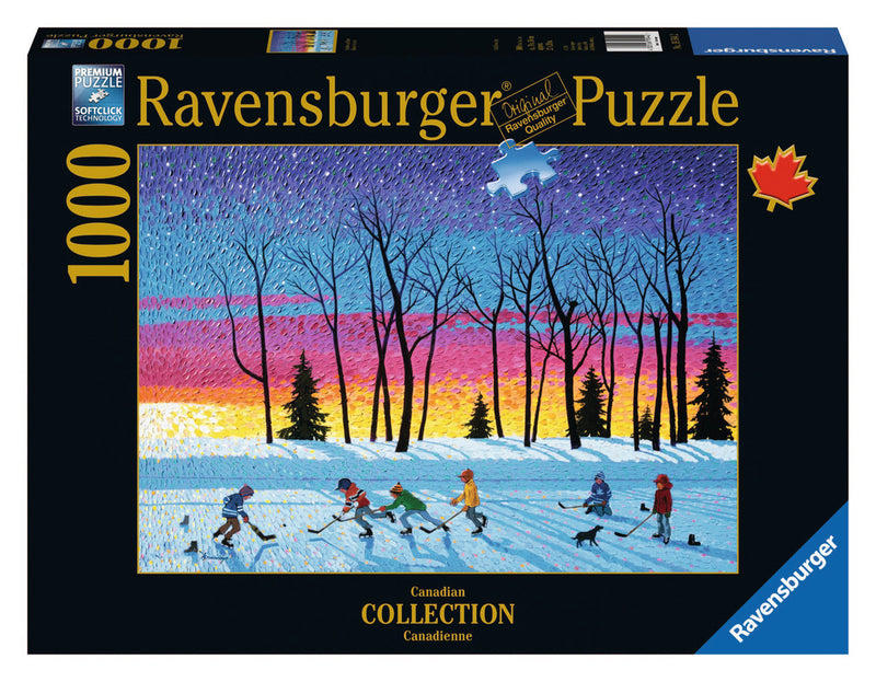 Ravensburger 1000 Pieces Puzzle Brown Sundown Stars - 19544