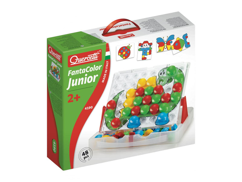 Quercetti - 4190 | Fanta Color Junior (48 Pieces)