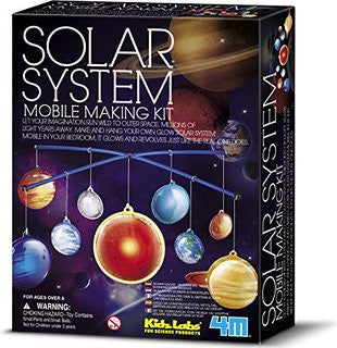 4M 3D Solar System Mobile Making Kit - P5520