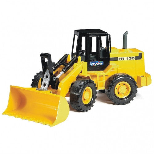 Bruder Fiat Articulated Road Loader Fr 130, Yellow - 02425