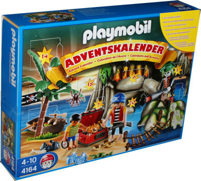 Playmobil Advent Calendar Pirates Treasure Cove - 4164