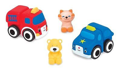 Melissa & Doug 9197 Pop Blocs Vehicles 8 Pieces Set