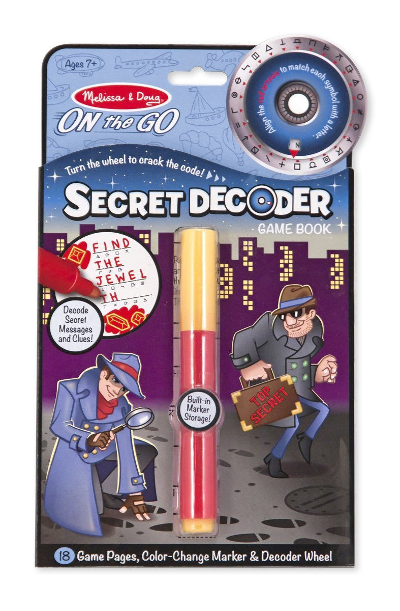 Melissa & Doug 5248 Secret Decoder Travel Book