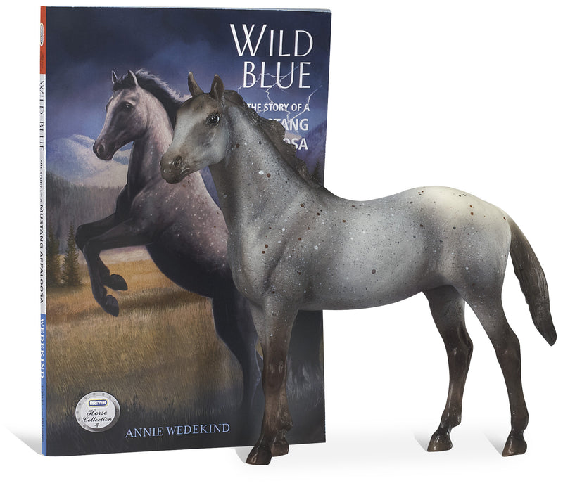 Breyer - 6136 | Classics: Wild Blue Book and Model Horse Set