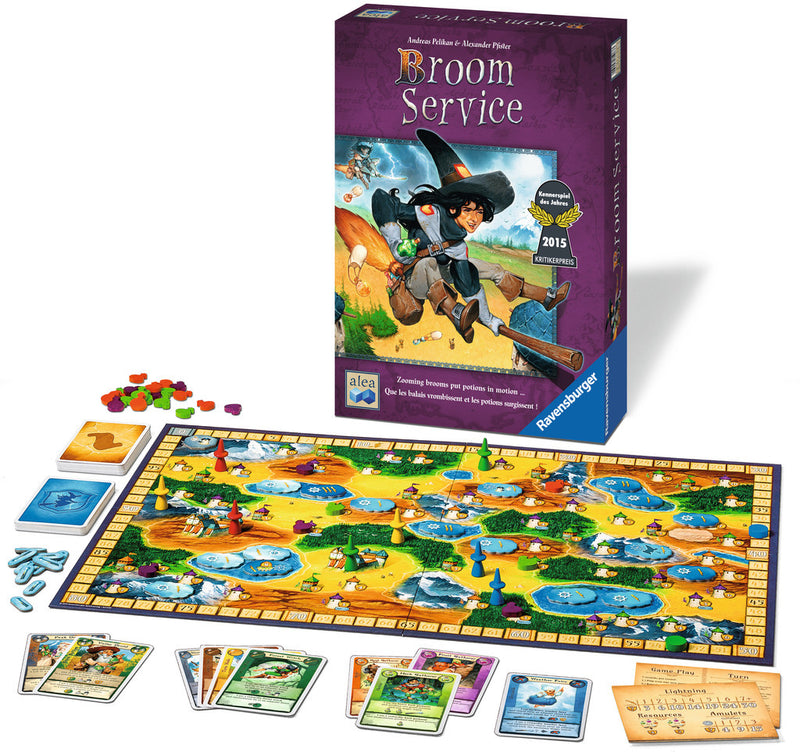 Ravensburger Broom Service Board Game - 81083