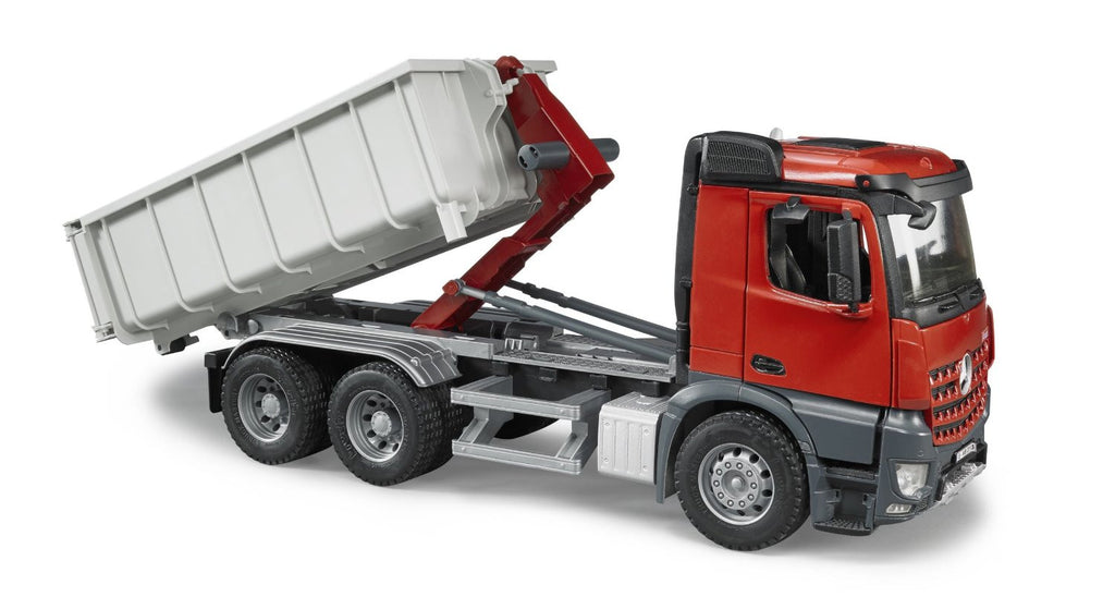 Bruder Mercedes Benz Arocs Truck With Roll-Off Container - 03622
