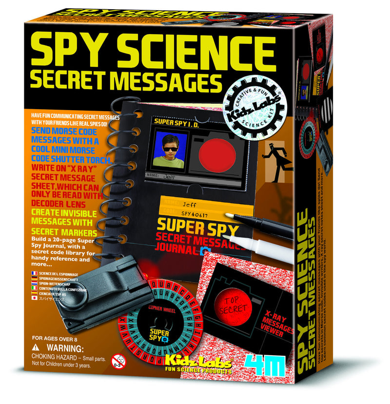 4M Spy Science Secret Messages - P3291