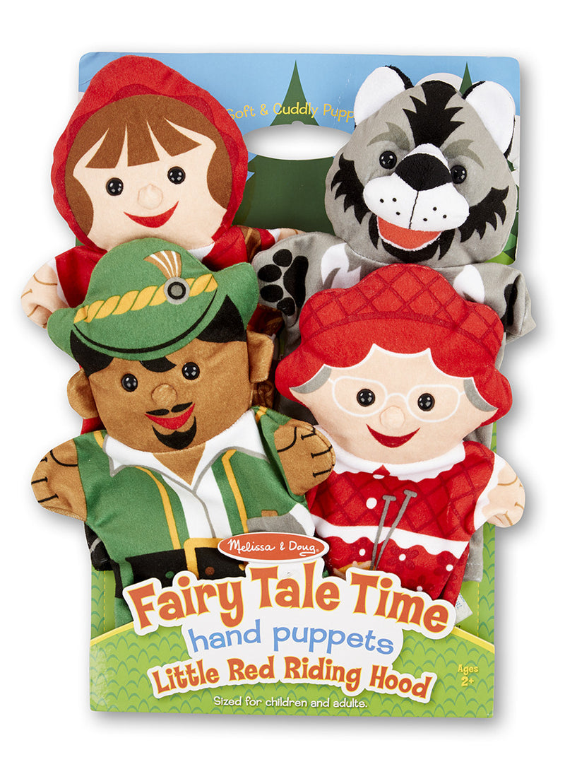 Melissa & Doug 9088 Fairy Tale Hand Puppets 4 Pieces