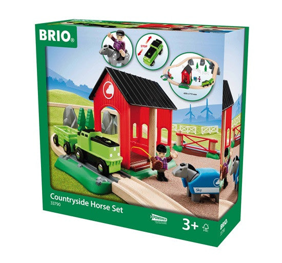 Brio Countryside Wooden Horse And Train - 33790