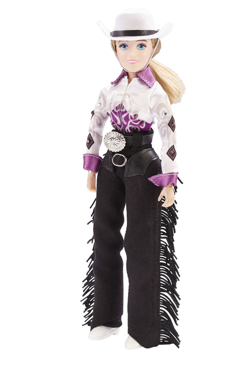 Breyer 8-Inches Cowgirl Taylor Figure 1:9 - 541