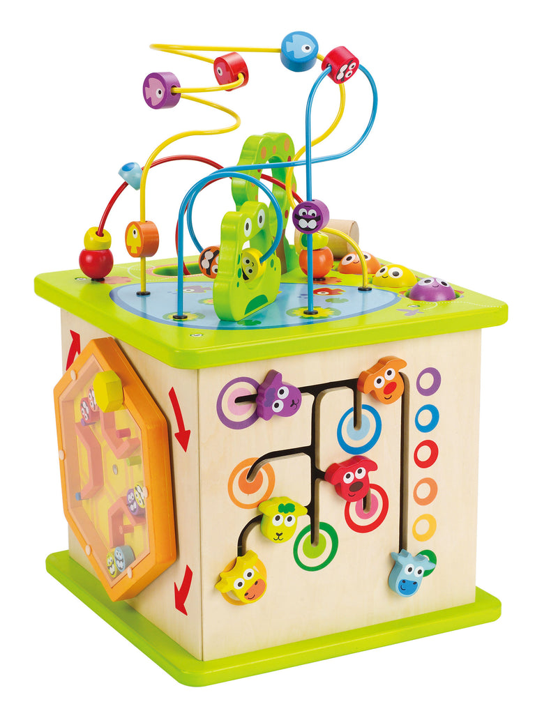 Hape Country Critters Activity Cube - E1810