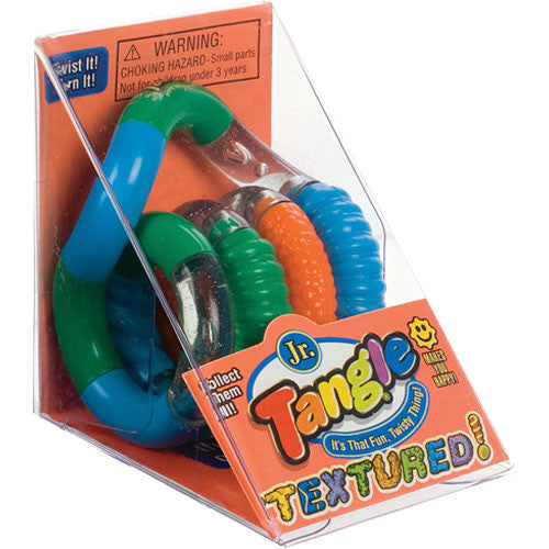 Toysmith Tangle Jr Textured Fidget Toy
