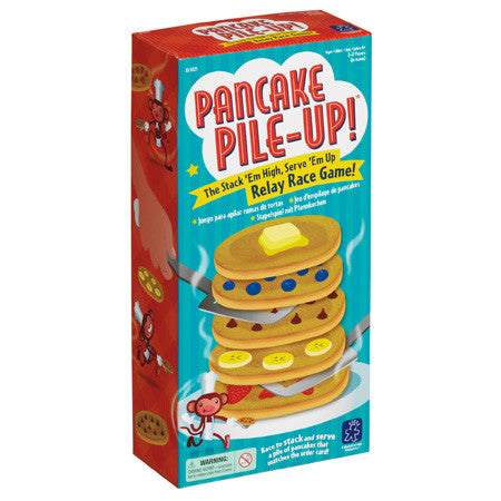 Educational Insights - EI3025 | Pancake Pile-Up Relay Game