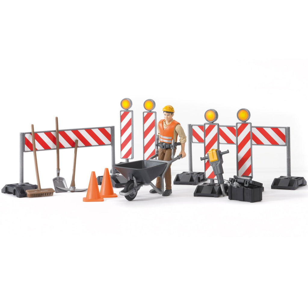 Bruder Bworld Construction Set With Man - 62000