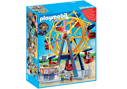 Playmobil Ferris Wheel With Lights - 5552