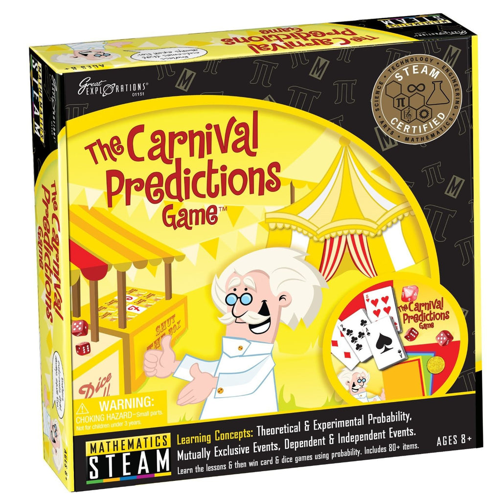 Great Explorations: STEAM The Carnival Predictions Game