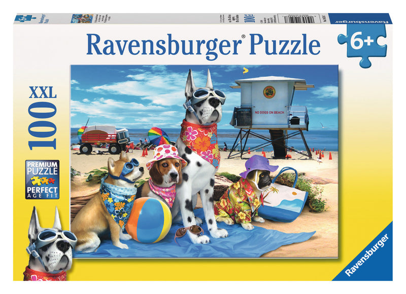 Ravensburger 100 Pieces Puzzle No Dogs On The Beach - 10526