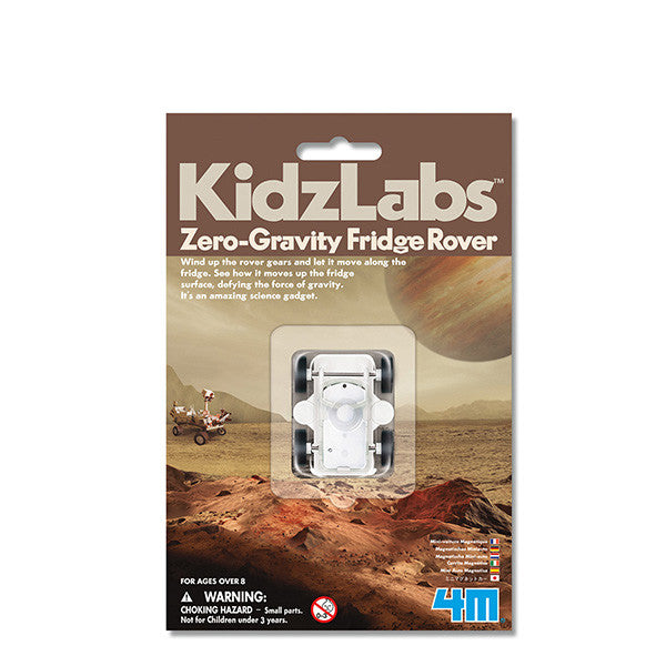 4M - P3268 | KidzLabs: Zero Gravity Fridge Rover Magnetic Wind-Up