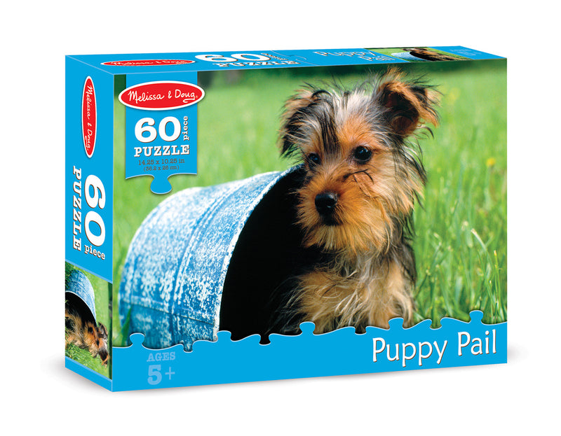 Melissa & Doug 8934 Puppy Pail 60 Pieces Puzzle