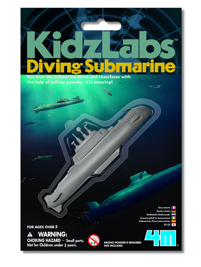 4M Diving Submarine Mini Kit - P3212