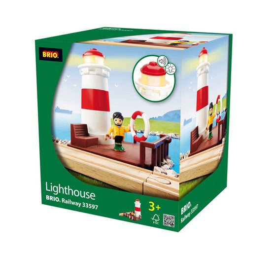Brio Lighthouse For Wooden Train Set - 33597