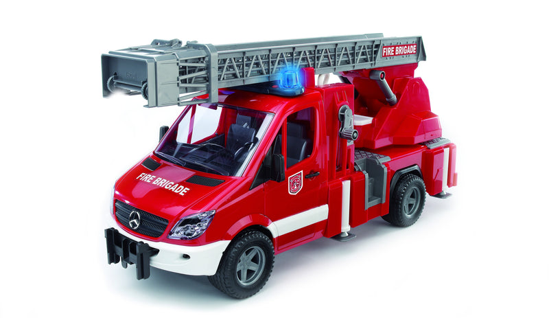 Bruder - 02532 | Emergency: Mercedes Benz Sprinter Fire Engine With Light And Sound Module