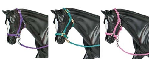 Breyer - 2474 | Traditional: 3 Nylon Halters With Lead Rope