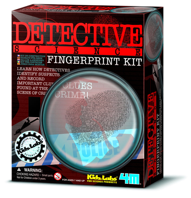 4M Fingerprint Detective Science - P3248