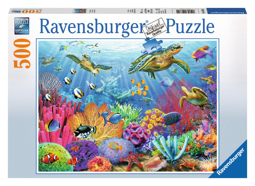 Ravensburger 500 Pieces Puzzle Tropical Waters - 14661