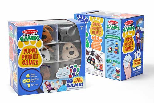 Melissa & Doug 3055 Puppy Pursuit - 10 Games