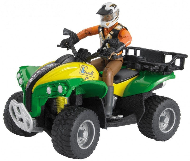 Bruder - 63000 | Leisure Time: Quad With Driver, Green